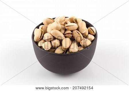 Pistachio Nut On White