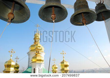 Kiev-Pechersk Lavra in the city Kiev.Monastery of Ukraine