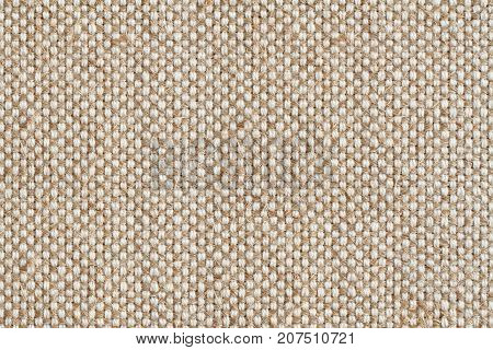Background - beige rough tarpaulin cloth. Horizontal photo