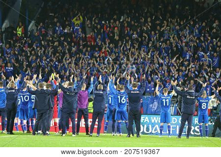 World Cup 2018 Qualifying: Iceland V Ukraine In Reykjavik