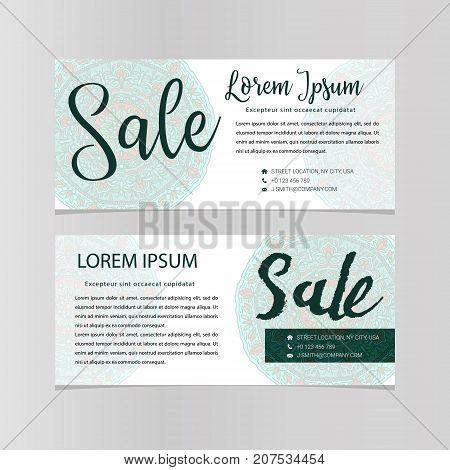 Sale Banners Design Vector Business Voucher Shopping