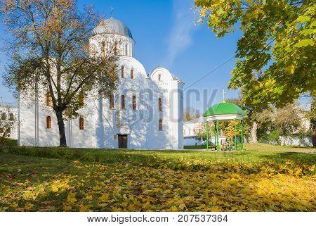 Boris and Gleb Church in Chernigov (XII century.)