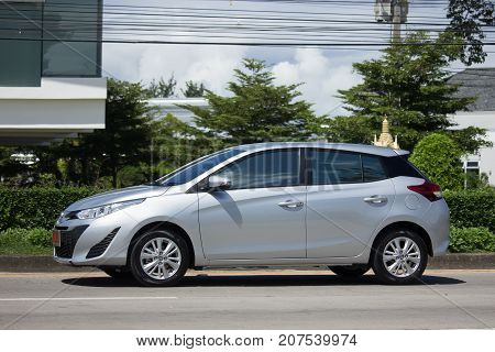 New Private Car Toyota Yaris Hatchback Eco Car