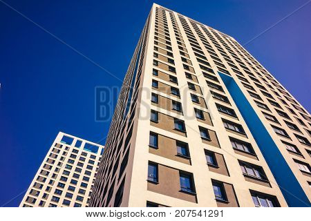 High Rise Condominiums, Residential Building, Apartment Building Exterior,  Building Face, High Rise Buildings, Urban Housing