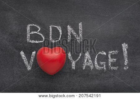 Bon Voyage Heart