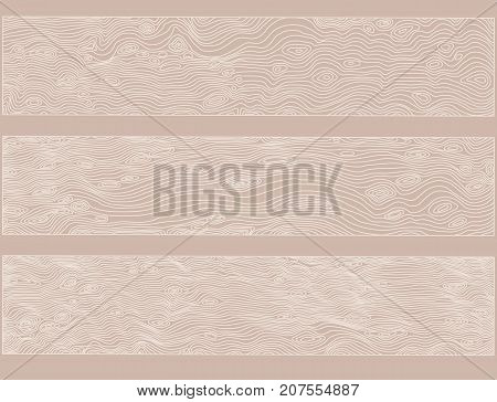 Imitation of wooden background. Vector texture with wood effect. Nude illustration