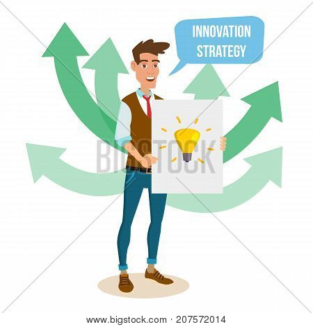 Crowdfunding, Start Up Vector. Donate Money. New Start Up Project. Creative Idea. It Business Flat Cartoon Illustration