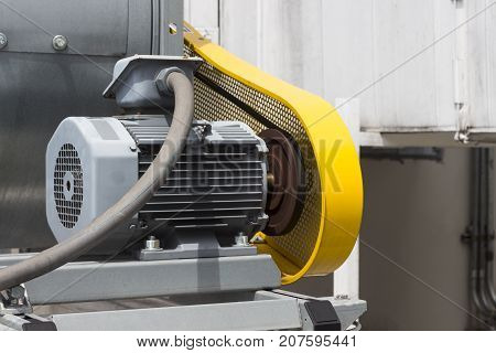 Belt Guard safety protection for motor of air blower