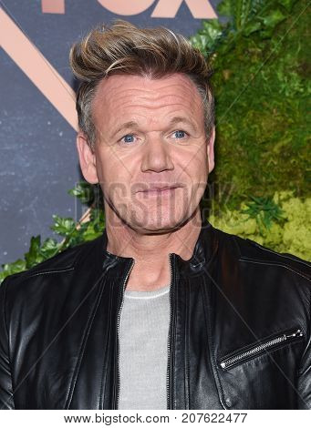 LOS ANGELES - SEP 25:  Gordon Ramsay arrives for the FOX Fall Party on September 25, 2017 in West Hollywood, CA