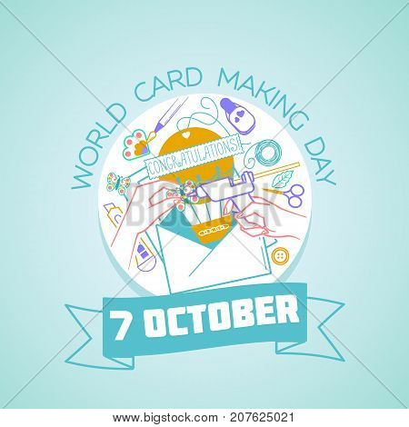 7 October World Card Making Day