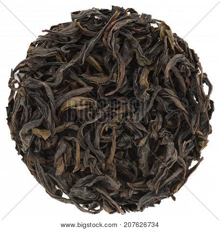 Chun Lan Wu Yi Mountain Rock Oolong Tea round shape