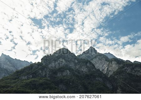 Switzerland' 2017/ sharp rocks beautiful pyramids beautiful nature high mountains the forest on top of a mountain evening in the mountainsmountains in the clouds fluffy clouds white clouds