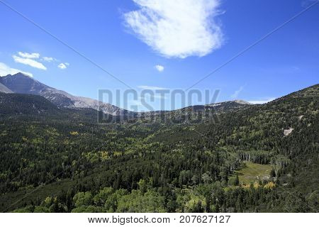 Great Basin National Park in Nevada State