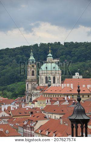 Praga widok rynek perełka Czechy stolica ikona