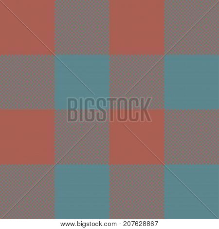 Blue and brown Tartan plaid seamless abstract checkered pattern background for Christmas , Wedding, Birthday design cards Flat style vector illustration.