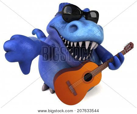 Fun Trex - 3D Illustration