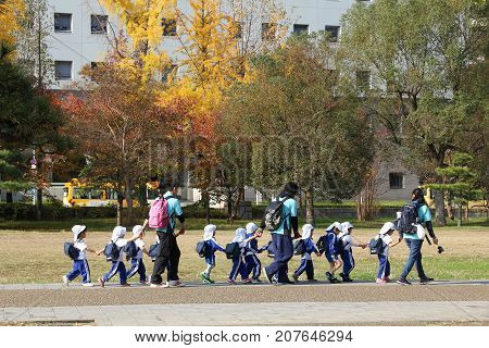 Japan Kindergarten Trip