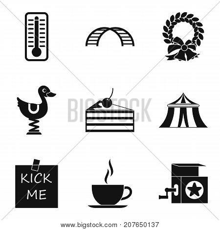 Boyishness icons set. Simple set of 9 boyishness vector icons for web isolated on white background