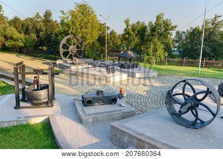 View On Mining Equipment Xviii-xx Centuries In Nizhny Tagil