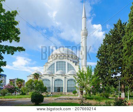 Abu Bekr Mosque (Mosque of Sheikh Zamil Abdullah Al-Zamil or Great Mosque) Xhamia e Madhe Shkoder Albania