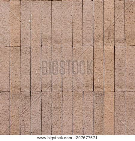 pastel pink sandstone tile pattern. Stone tile for building decoration