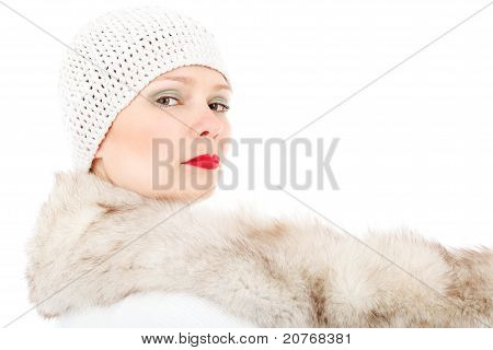 Fashion Winter Lady