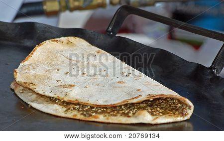 Libanesische Pizza