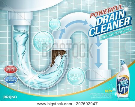 Drain Cleaner Ads