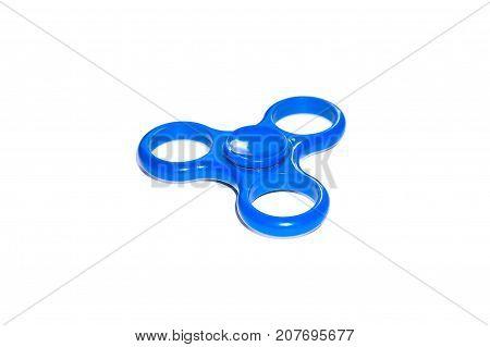 Fidget Spinner On Isolated Background