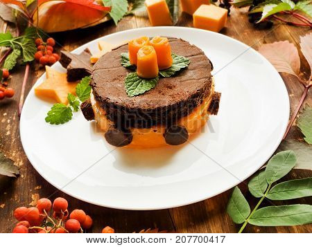Sweet Pumpkin Cake