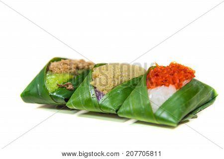 Sweet Sticky Rice (thai Traditional Dessert Food)