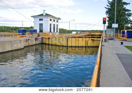 Upper Canal Lock Doors
