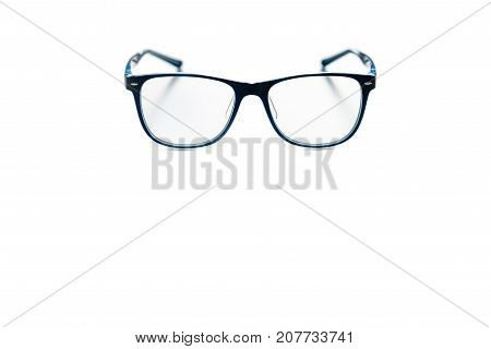 Stylish goggles for computer work isolated on a white background