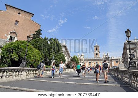 ROME ITALY - JUNE 11 2016: The