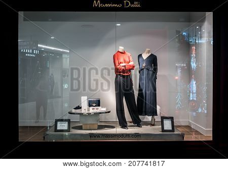 Massimo Dutti Shop At Emquatier, Bangkok, Thailand, Sep 2, 2017