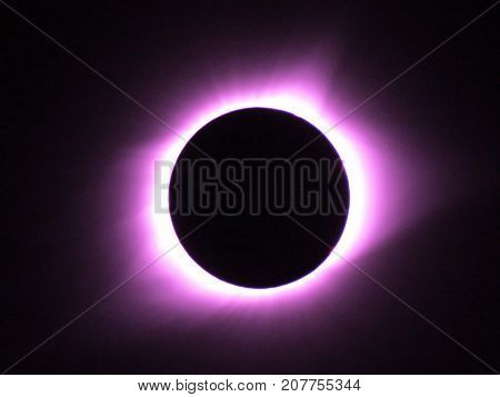 The Total  Eclipse over Illinois in 2017