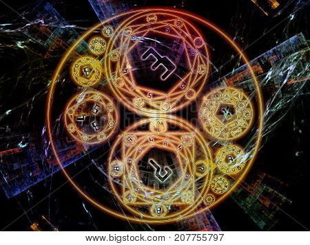Unfolding Of Symbolic Meaning