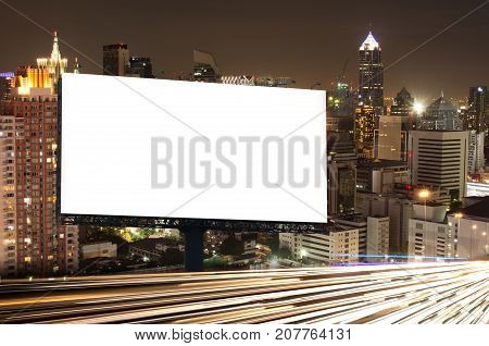 Billboard Night Or Outdoor Advertising