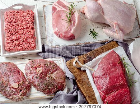 Variety Of Meat