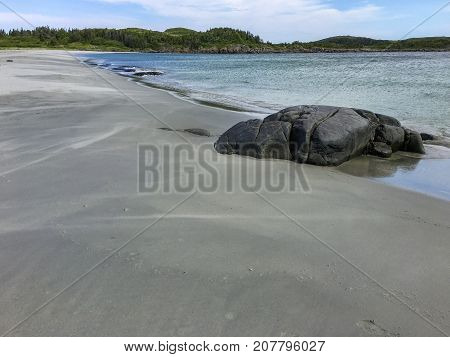 Sandy Cove Beach near Tilting on Fogo Island, Newfoundland