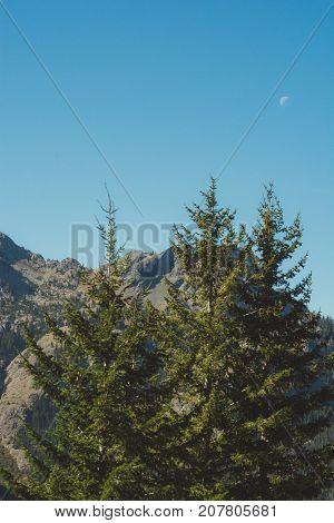Day Hike, Cascade Mts, Washington State, Usa