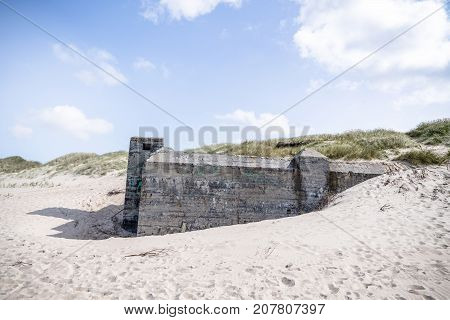 German Bunker From The Second World War