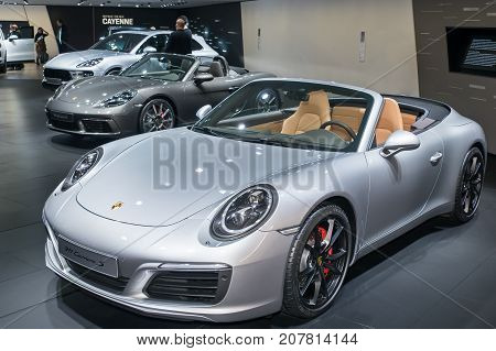 Porsche 911 Carrera S, Porsche 718 Boxster S And Porsche Macan Turbo