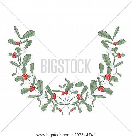 Vector illustration Christmas lights on a grey background. String Lights