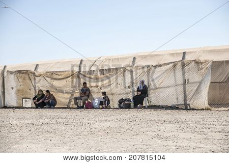Refugee Camp For Syrian People In Turkey. September 7, 2017. Suruc, Turkey