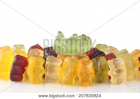 Gummy bear story series - crowd surfer