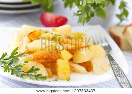 Roast Potatoes With Fresh Herbs