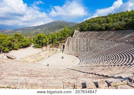 Epidaurus Ancient Theatre, Greece