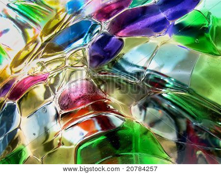 Abstract Glass Design