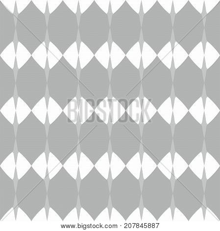 Tile vector pattern with grey and white background or seamless decoration wallpaper